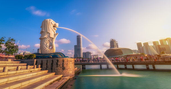 free attractions in Singapore_Merlion Park