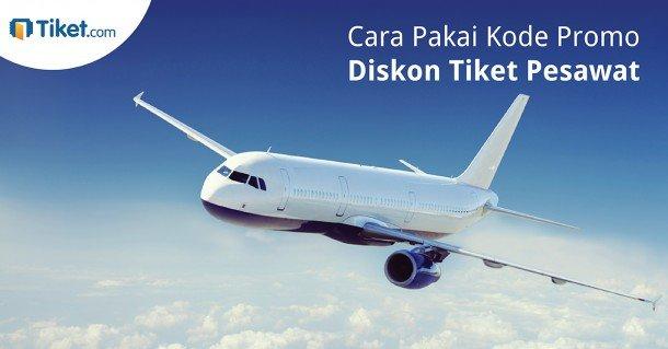 Kode Promo Pesawat Tiket.com