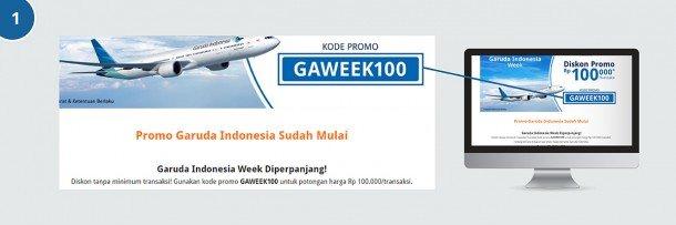 Cara Menggunakan Kode Promo Pesawat