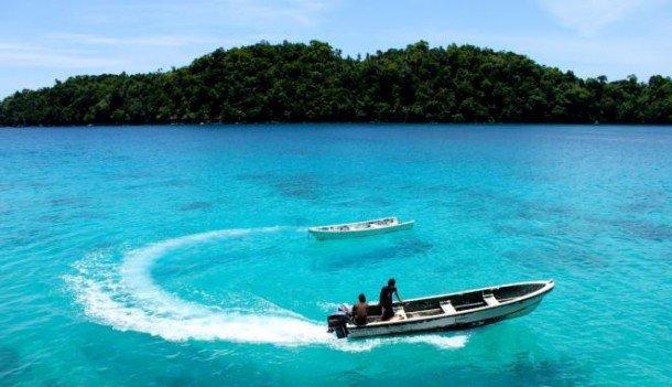 Pantai Iboih di Pulau Weh via viva.co.id