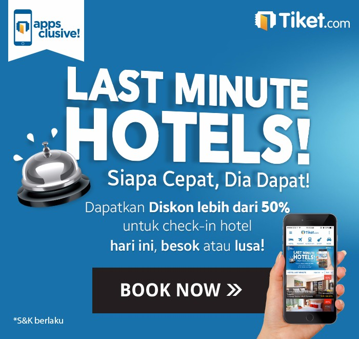 Last Minute Hotels Tiket.com