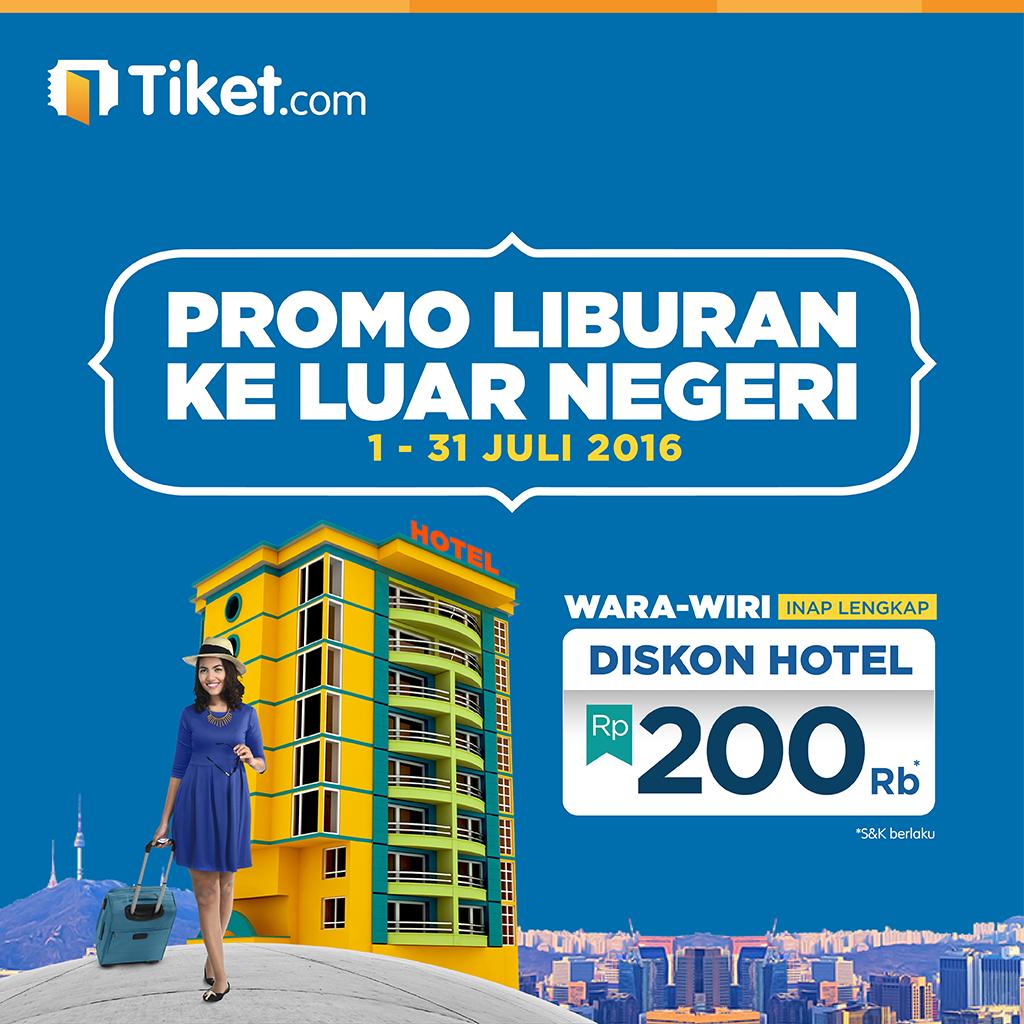Promo Hotel Luar Negeri
