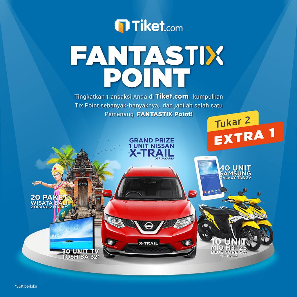 Fantastix Point Tiket.com