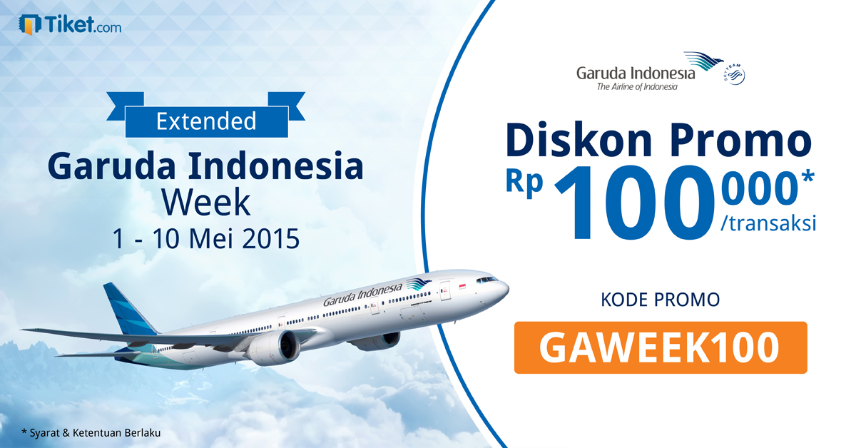 Garuda Indonesia Week Extended