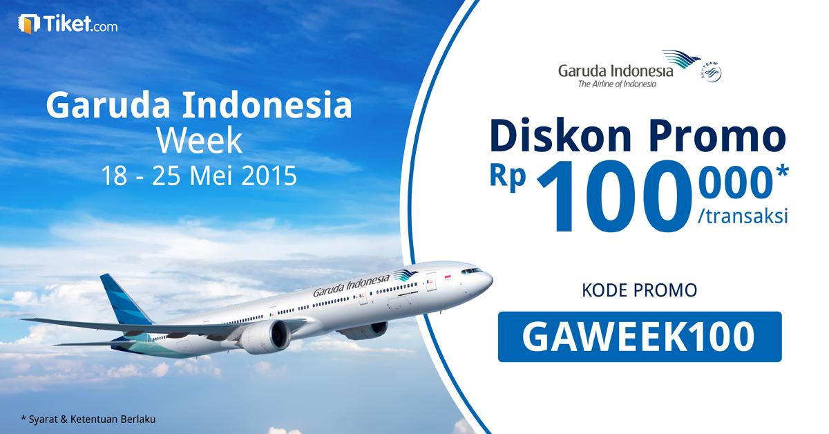 Garuda Indonesia Week Extended