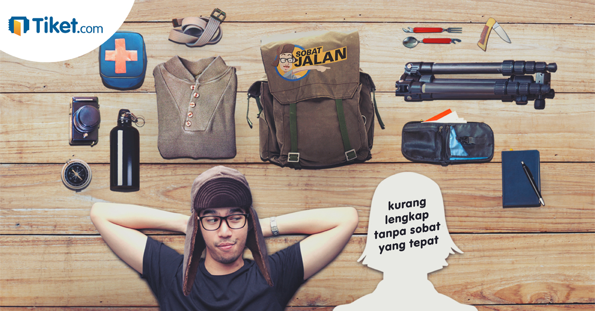 Liburan seru bareng Sobat Jalan di Tiket.com