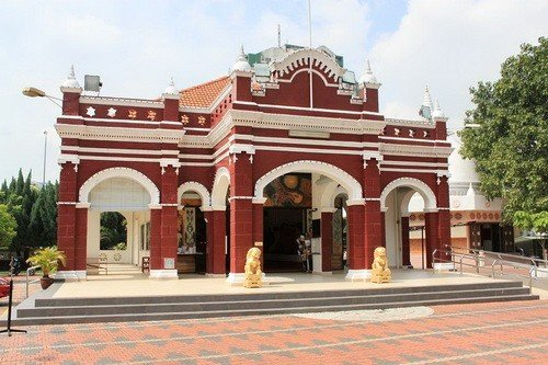 Buddhist Maha Vihara Brickfields Kuala Lumpur, Malaysia