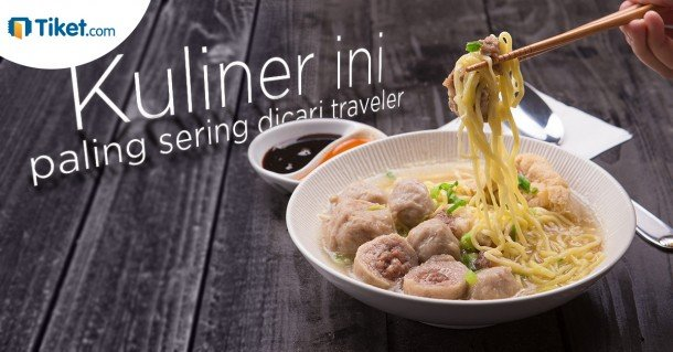 Kuliner ini paling sering dicari traveler