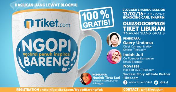 Ngopi Bareng Tiket.com