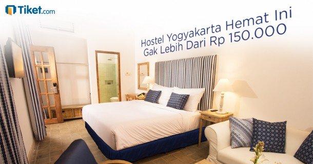 Hostel Yogyakarta Hemat Ini Gak Lebih Dari Rp. 150