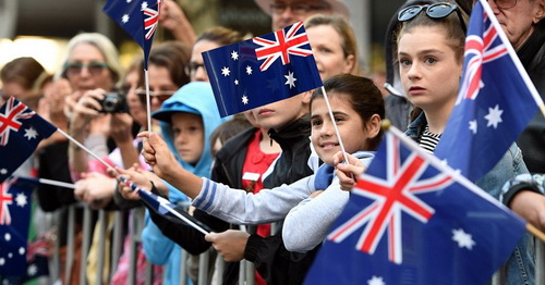 Australia via dailymail.co.uk