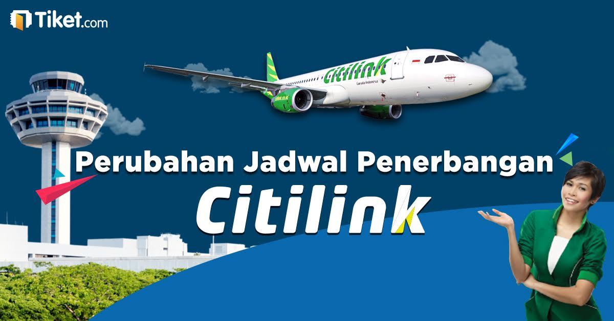 Jadwal penerbangan Citilink