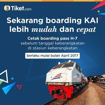 Info penukaran tiket kereta mudik