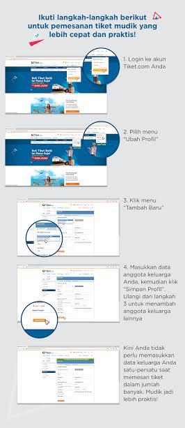 infografis cara cepat tiket mudik