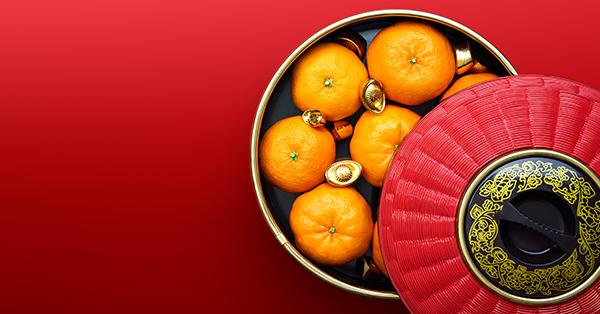 5 Makanan Khas Imlek di Indonesia - Jeruk Mandarin