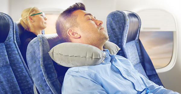 5 Tips to Survive Long-Haul Flight_blog_Neck Cushion