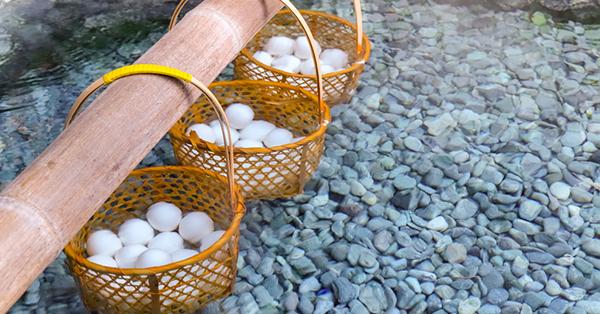 Hot Springs (Onsen) in Japan_blog_Boiling Eggs in Onsen