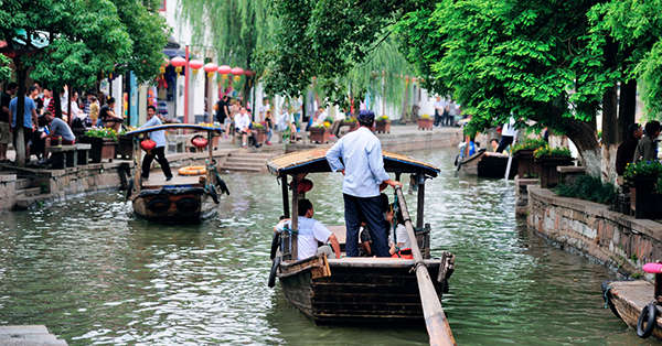 7 Fun Things to do in Shanghai_blog_Zhujiajiao (a classic water town)