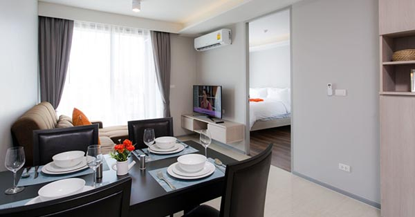 Budget accommodations in Phuket_6th Avenue Surin