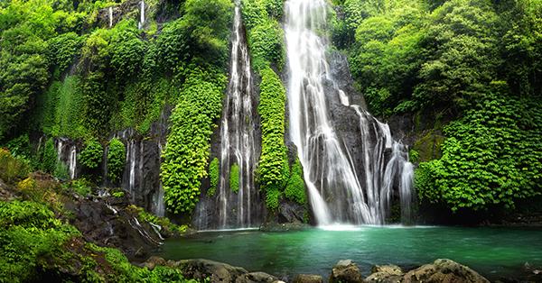 Air Terjun di Bali-Air Terjun Banyumala
