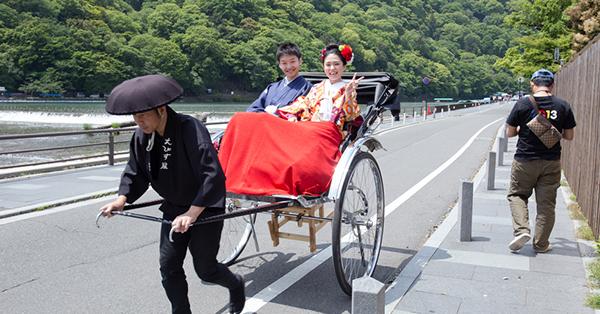 Arashiyama rickshaws Tour, Kyoto
