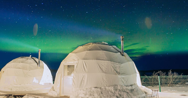 northern lights Murmansk