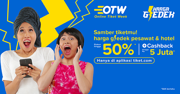 Banner OTW Online Tiket Week - Tempat Instagramable di Tokyo