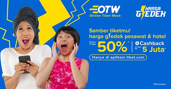 Banner OTW Online Tiket Week