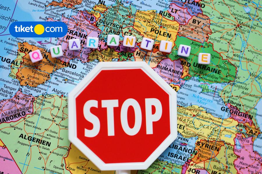 Info Lengkap Peraturan Pembatasan Wilayah di Sejumlah Negara di Benua Eropa