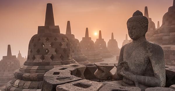 historical destinations in Indonesia_Borobudur