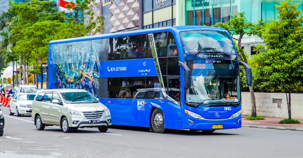 Bus Tingkat Jakarta BW1