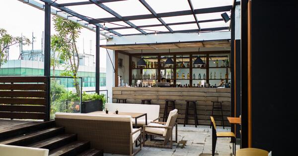 Cafe di Kemang - lobbyn sky terrace