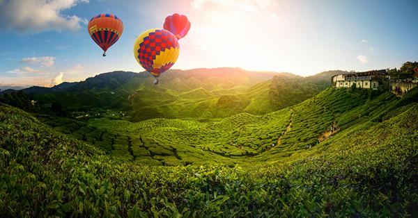 spot fotografi di Malaysia