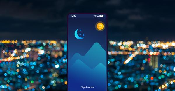 Cara Menghemat Baterai - Aktifkan Night Mode