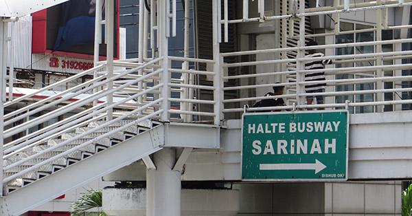 Cara Naik Busway - Pergi Menuju Halte Busway Terdekat dari Rumah