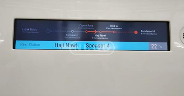 Perhatikan peta MRT
