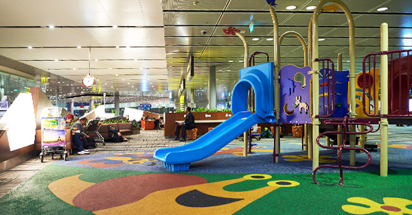 Changi Airport Fasilitas Gratis - Children Playground