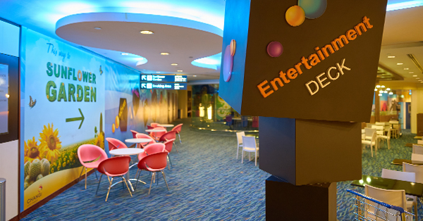 Changi Airport Fasilitas Gratis - Entertainment Deck