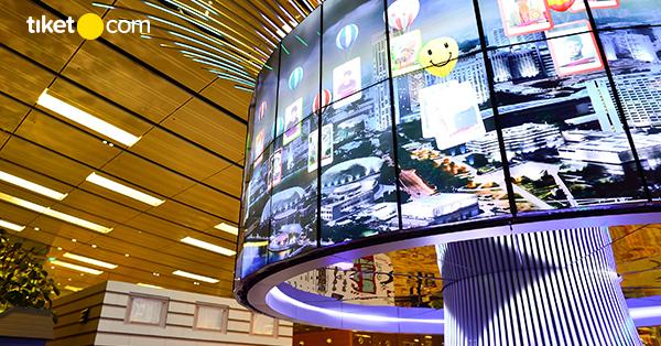 Changi Airport Fasilitas Gratis