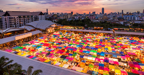 Shopping Paradise in Bangkok