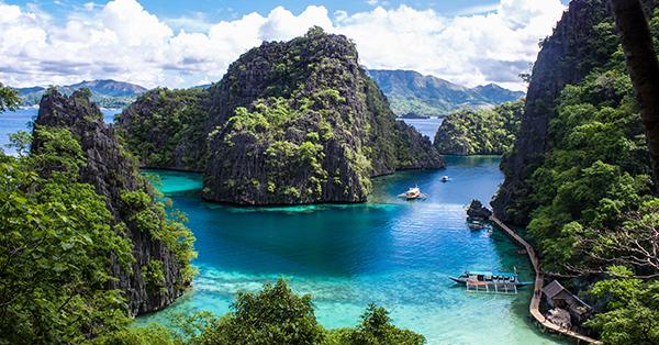 Tempat Wisata di Filipina yang Terkenal - Coron Island