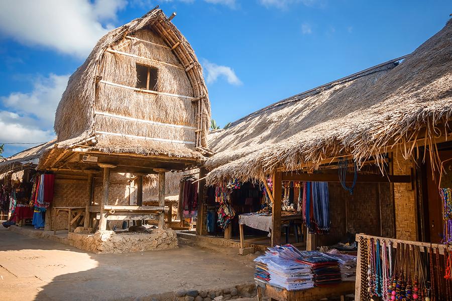 tempat souvenir di lombok