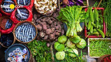 pasar tradisional di Palembang