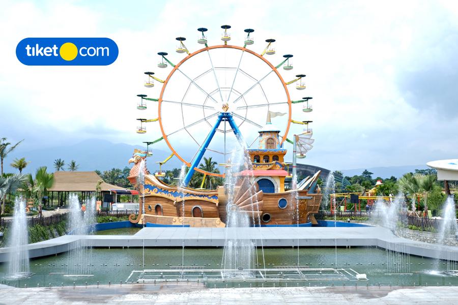 Saloka Theme Park, Taman Bermain Megah di Jawa Tengah