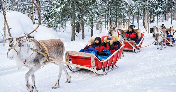 Destinasi Liburan Musim Dingin - Rovaniemi Finland