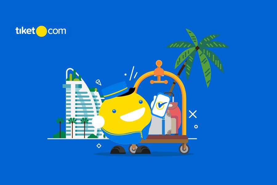Tahun Baru, Fitur Baru, Sudah Tahu Apa Saja yang Baru di Aplikasi tiket.com ?