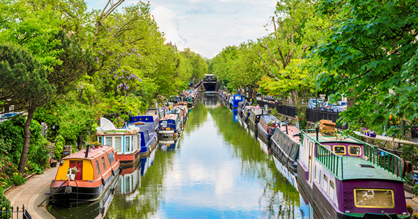 Free Attractions in London_blog_Little Venice London