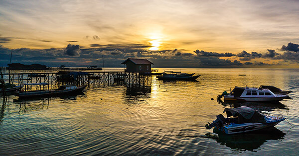 Gambar Pemandangan Alam Terindah - Kepulauan Derawan