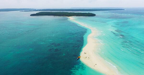 Gambar Pemandangan Alam Terindah - Pantai Ngurtafur