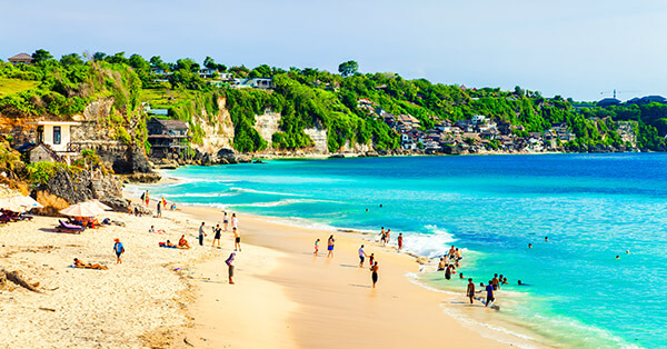 Gambar Pemandangan Terindah - Pantai Dreamland